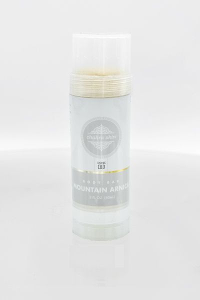 Chakra Skin High Potency CBD BodyBar Mountain Arnica